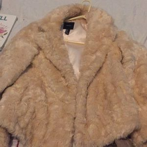 Fur coat only worn once
